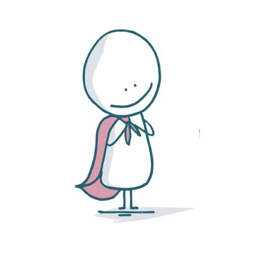 Wear cape